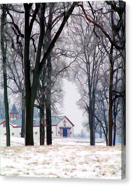 Calumet Winter Canvas Print