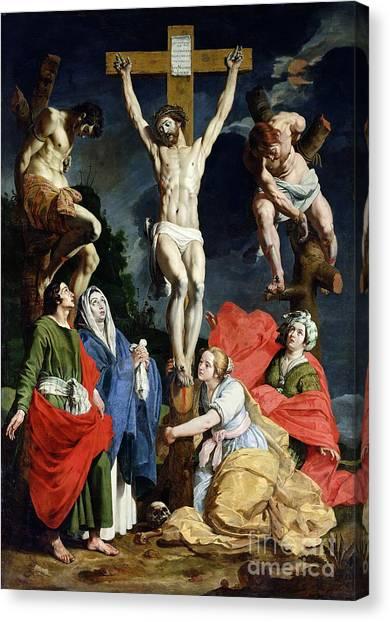 Religious Canvas Print - Calvary by Abraham Janssens van Nuyssen