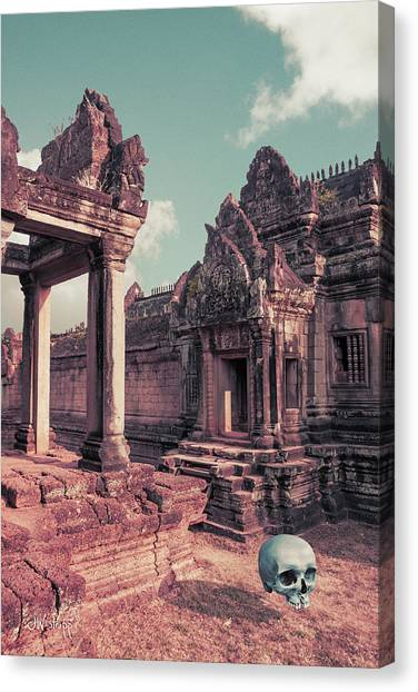 Cambodian Blue Canvas Print