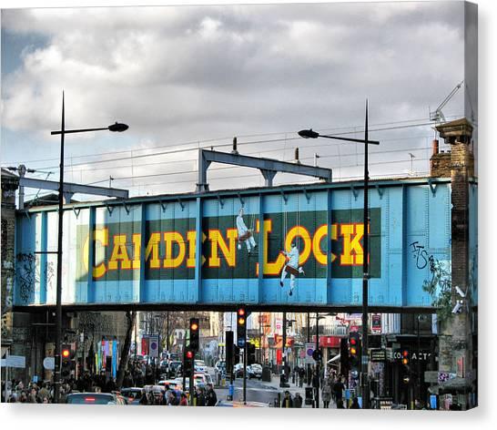 Camden Lock Canvas Print