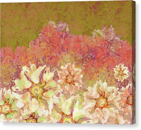Camellia Hedges Canvas Print