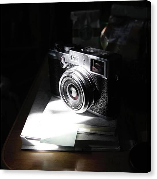 Yoda Canvas Print - #camera #fujifilm #x100 by Ken Yoda