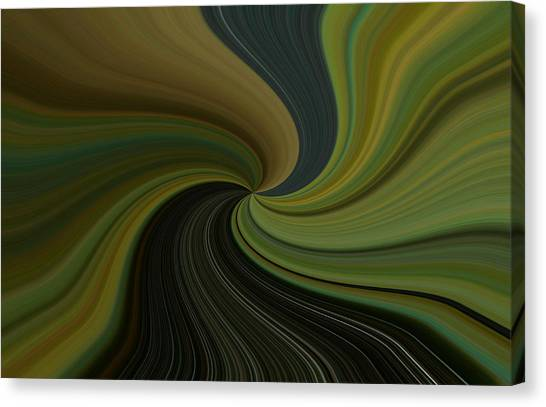 Camo Twist Canvas Print by Joshua Sunday