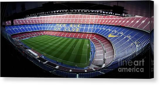 Camp Nou Canvas Print