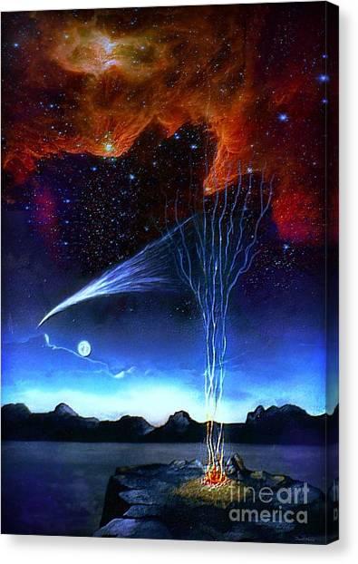 Campfire Canvas Print
