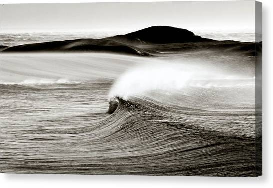 Camps Bay Wave Canvas Print by Tim Booth