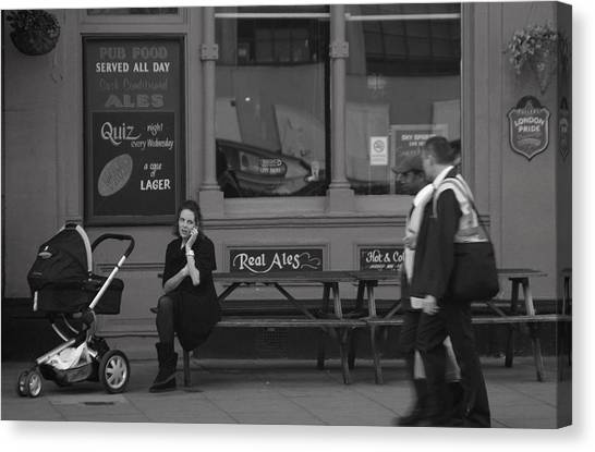 Can I Help You Canvas Print by Jez C Self