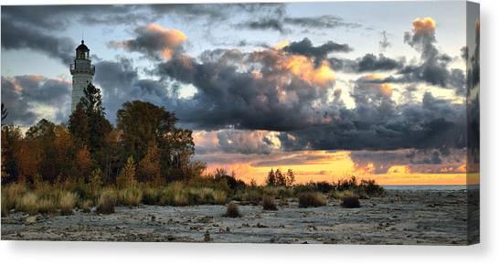 Cana Island At Dawn Canvas Print