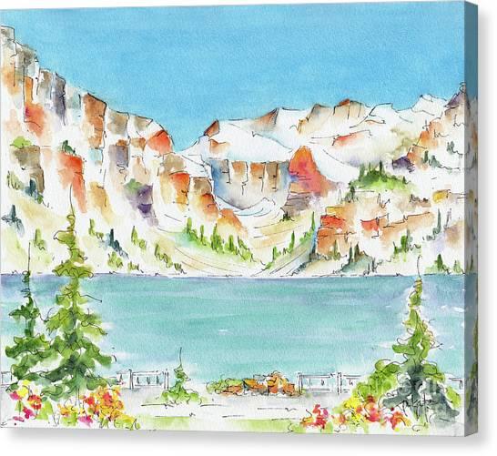 Canada 150 Alberta Canvas Print