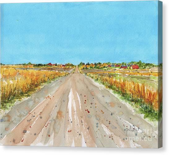 Canada 150 Saskatchewan Canvas Print