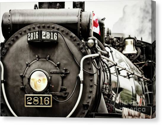Canvas Print featuring the photograph Canada Day by Brad Allen Fine Art