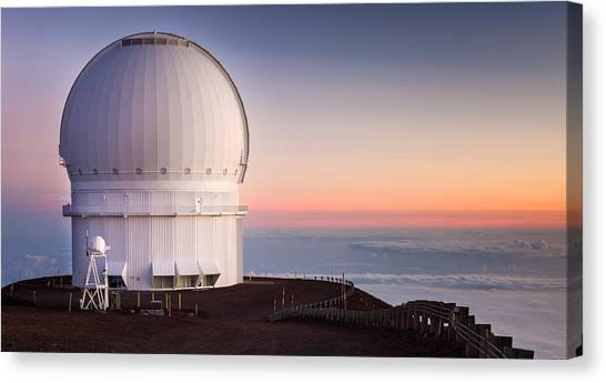 canada france hawaii telescope canvas prints fine art america