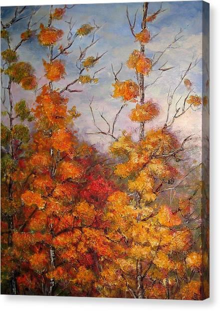Canadian Autumn Canvas Print