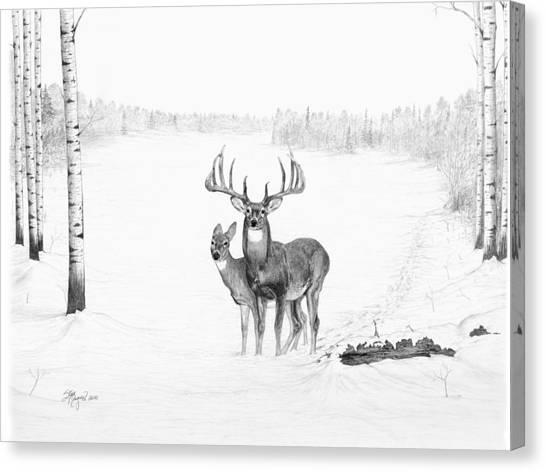 Monster Buck Canvas Print - Canadian Dream by Steve Maynard