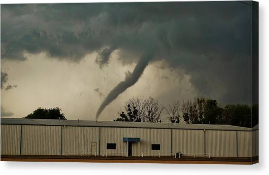 Canadian Tx Tornado Canvas Print