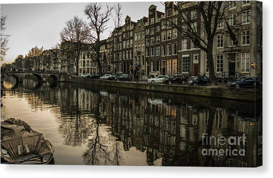 Canal House Reflections Canvas Print