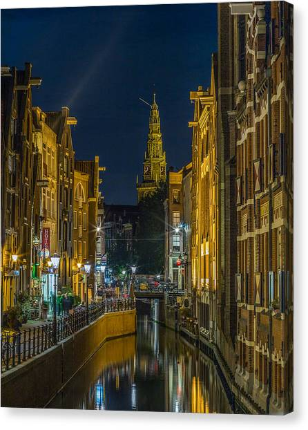 Sightseeing Canvas Print - Canal Life by Capt Gerry Hare
