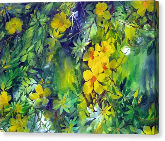 Canarias Canvas Print by Maritza Bermudez