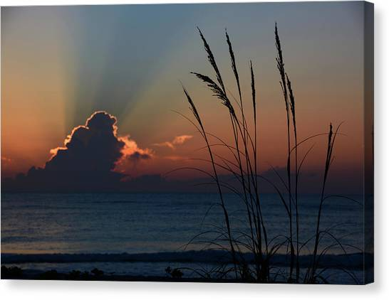 Canaveral Sunrise Canvas Print