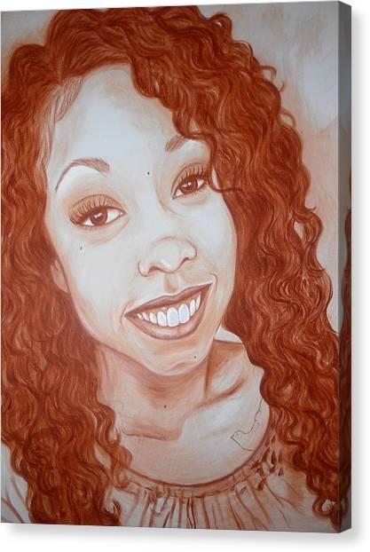 Candace Canvas Print