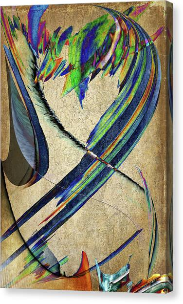 Frank Stella Canvas Print - Candle by Linda Dunn
