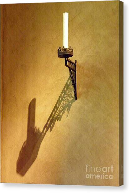 Merode Canvas Print - Candle On The Wall by Sarah Loft