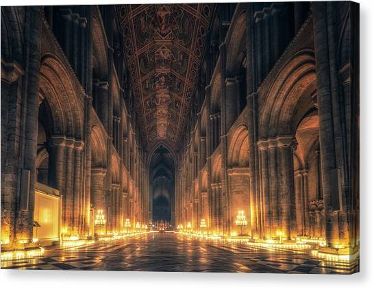 Candlemas - Nave Canvas Print
