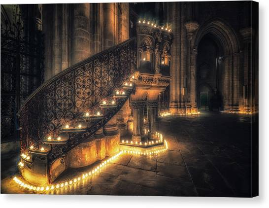 Candlemas - Pulpit Canvas Print
