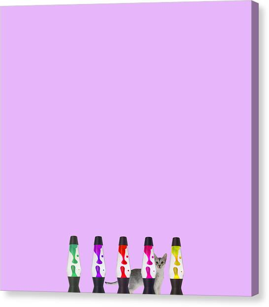 Minimal Canvas Print - Candy Balls by Caterina Theoharidou