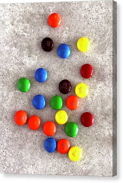 Candy Counter Canvas Print