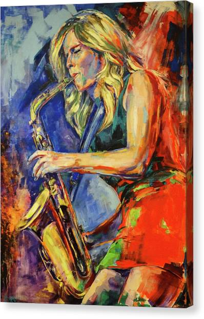 Candy Dulfer, Lily Was Here Canvas Print