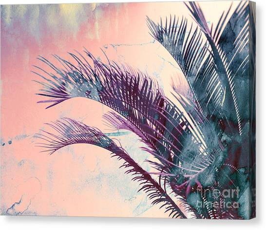 Candy Palms Canvas Print