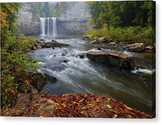 Cane Creek Falls Canvas Print