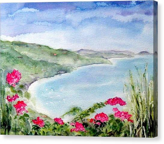 Cane Garden Bay Canvas Print