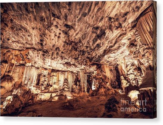 Cango Caves Canvas Print - Cango Caves, South Africa by Anna Om
