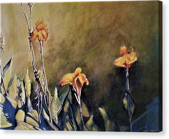 Canna Canvas Print - Canna Lily by Michael Charles Fargo