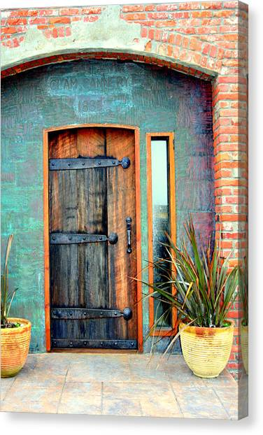 Cannery Door Canvas Print
