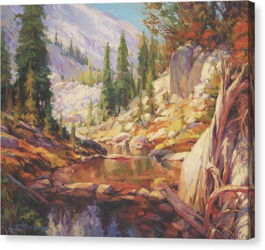 Idaho Canvas Print - Cantata by Steve Henderson
