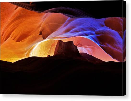 Antelope Canyon Canvas Print