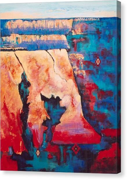 Canyon Colors Canvas Print