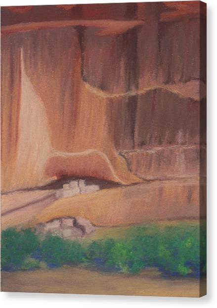 Canyon De Chelly Cliffdwellers #2 Canvas Print
