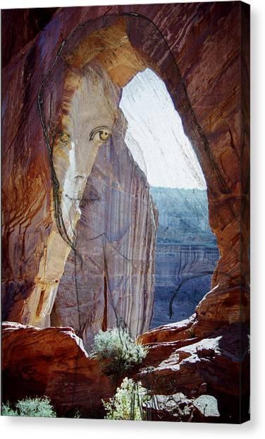Canyon De Chelly Spirit Canvas Print