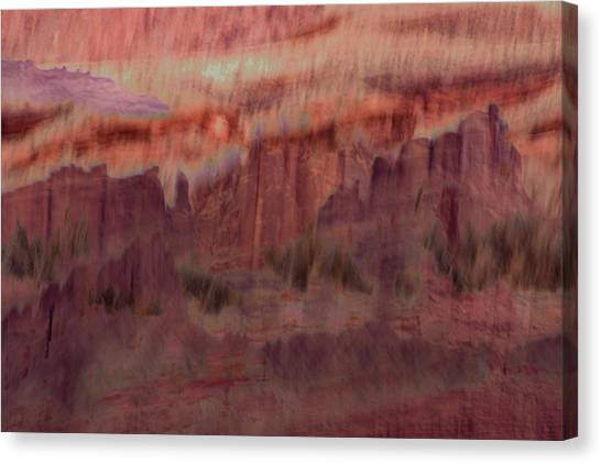 Canyon Dreaming Canvas Print