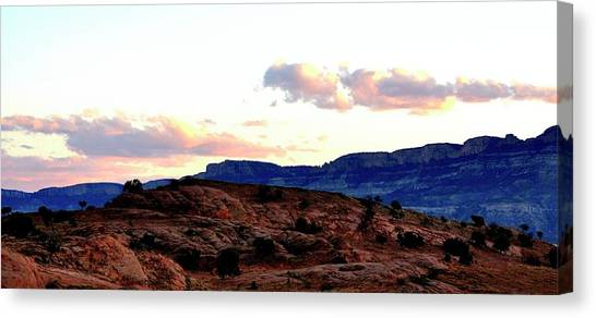 Canyon Sunset Canvas Print