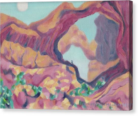 Canyon Canvas Print by Suzanne  Marie Leclair