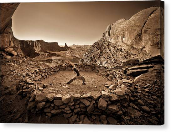 Canyonlands Kiva Canvas Print
