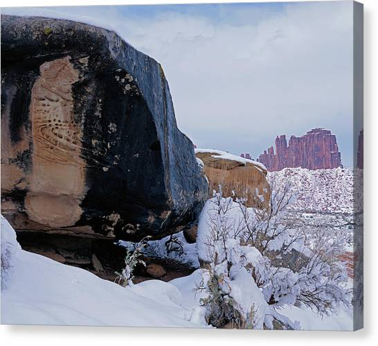 Canyonlands Swirl Canvas Print