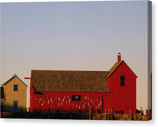 Cape Ann Motif Number 1 Canvas Print by Juergen Roth