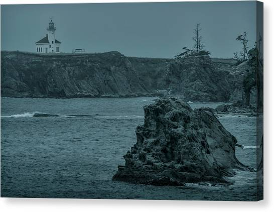 Cape Arago Light Canvas Print