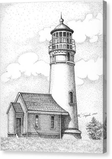 Cape Blanco Lighthouse Canvas Print